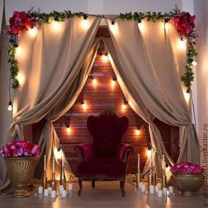 دکوراسیون اتاق عروس برای شب یلدا