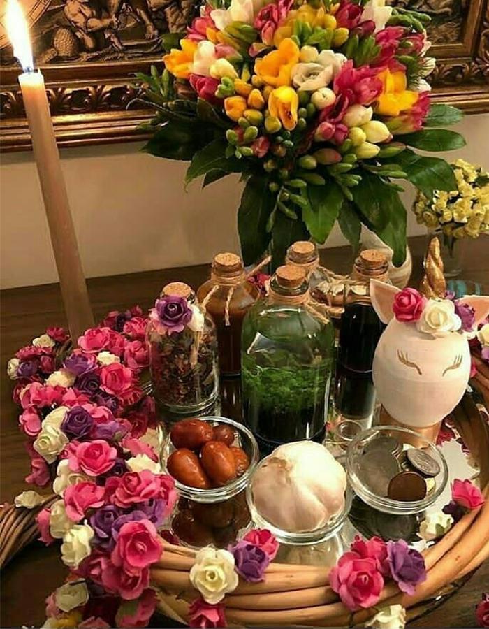 سفره هفتسین عید نوروز 99 - ردپنل