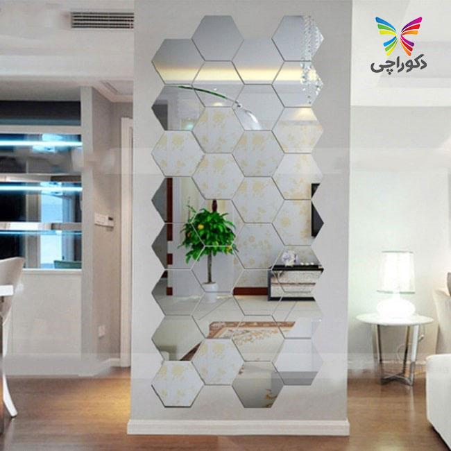 آینه های پازلی در منزل