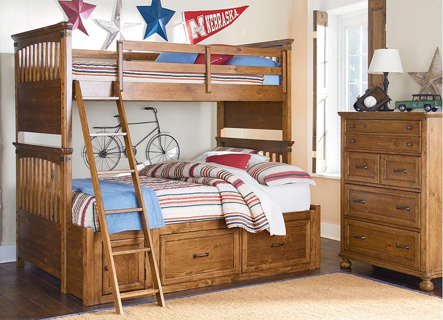 ایده طراحی تخت دو نفره چوبی