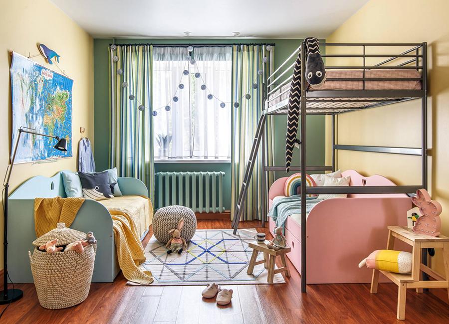 اتاق با تخت دوطبقه