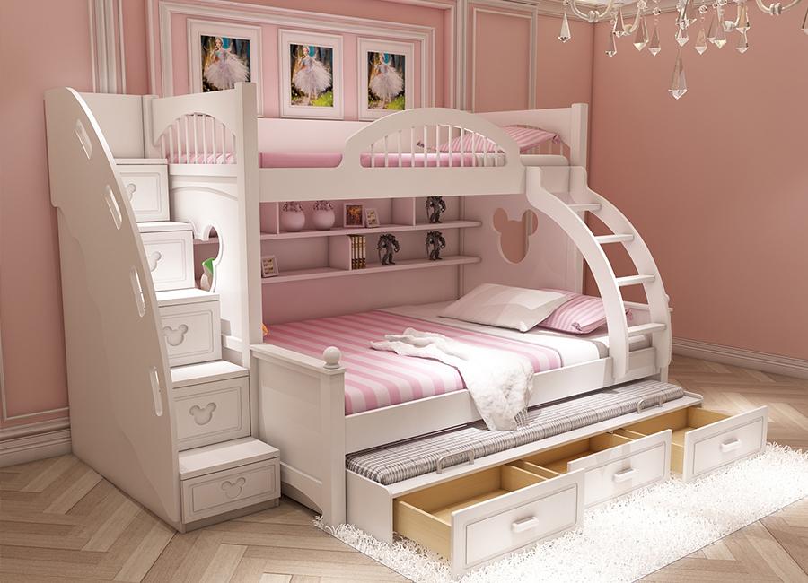 تخت دوطبقه دخترونه