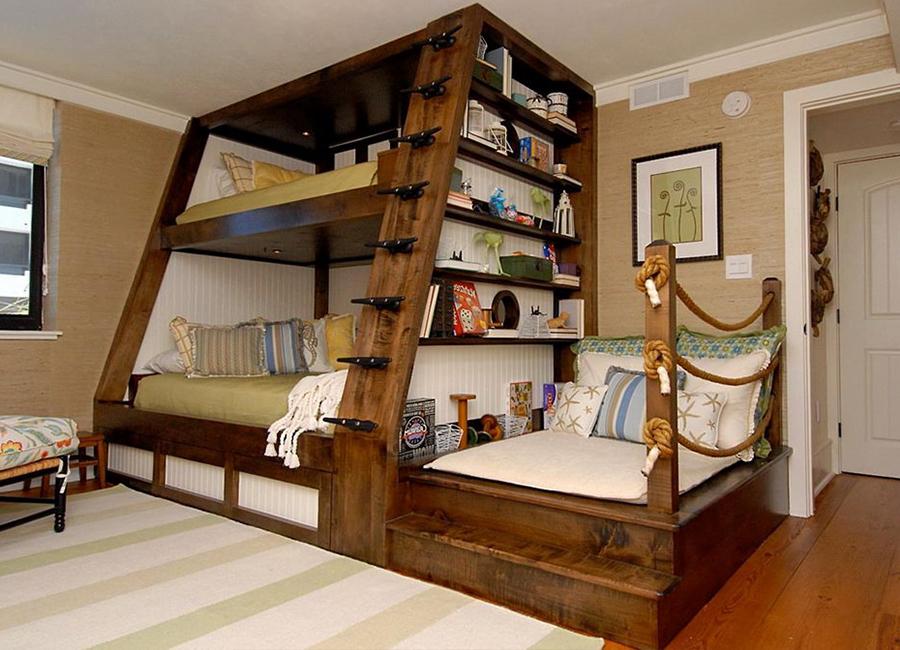 طراحی اتاق برای تخت دو نفره