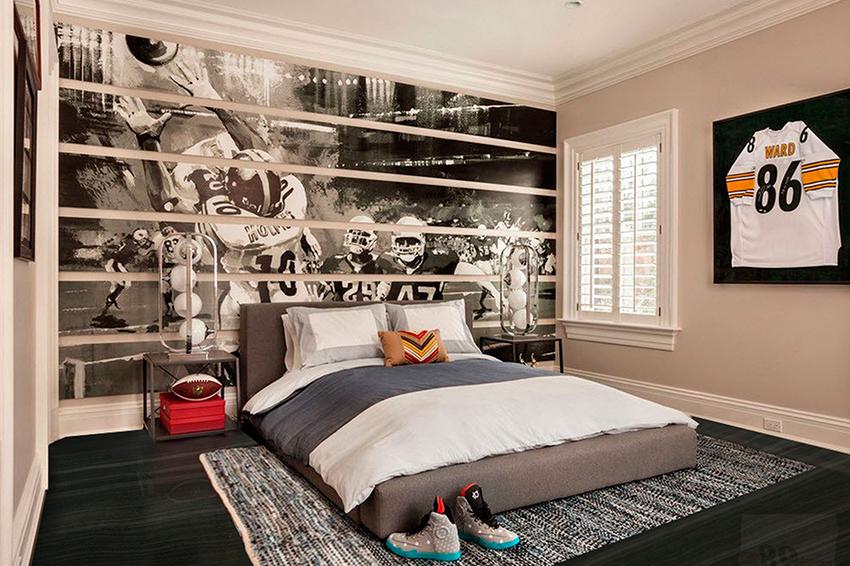 اتاق خواب فوتبالی پسرونه