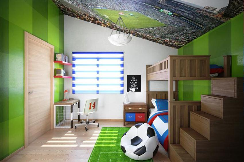 اتاق فوتبالی شیک