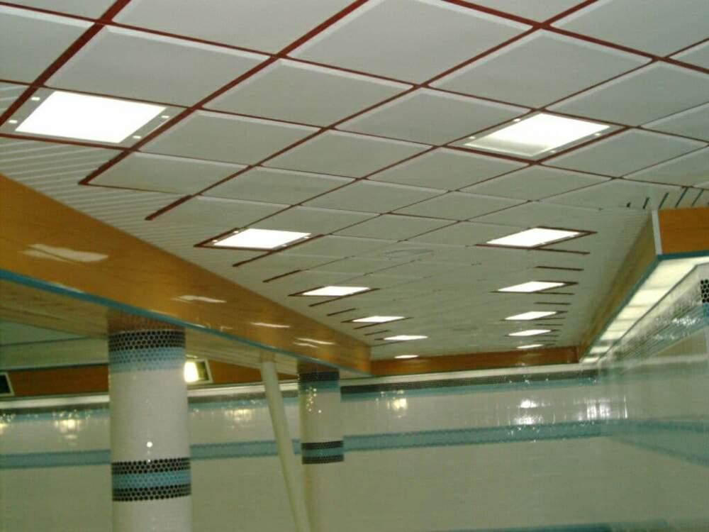 تایل آلومینیوم سقفی