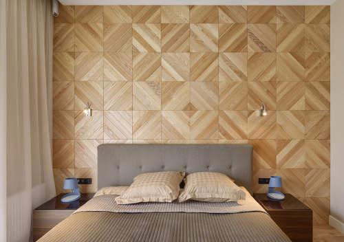 دیوارپوش چوبی پازلی