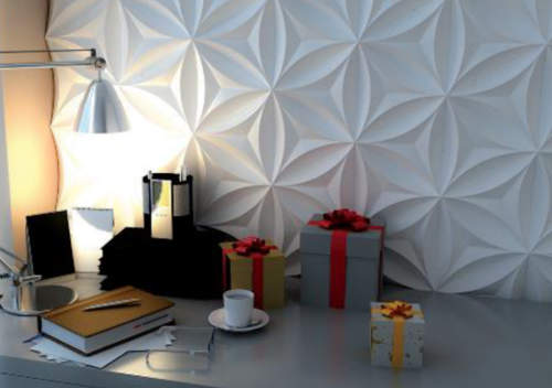پنل دیوار پوش سه بعدی سلولزی