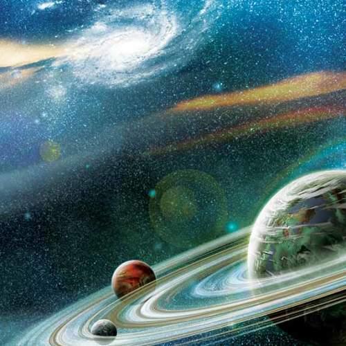 آسمان طرح کهکشانی